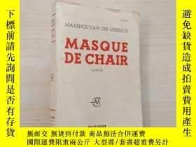 二手書博民逛書店MASQUE罕見DE CHAIR 毛邊書Y23625 DE CHAIR DE CHAIR 出版1958