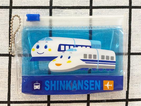 【震撼精品百貨】Shin Kan Sen 新幹線~三麗鷗新幹線迷你夾鏈袋吊飾#49249