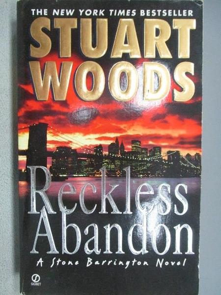 【書寶二手書T6/原文小說_FP1】Reckless Abandon_Stuart Woods
