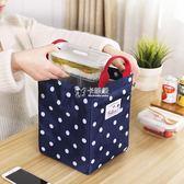 便當袋 便當手提包帶飯的手提袋飯盒袋保溫袋飯袋子鋁箔飯包包加厚便當袋 卡菲婭