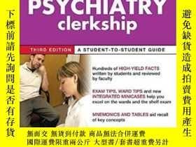 二手書博民逛書店First罕見Aid For The Psychiatry Clerkship, Third Edition (f