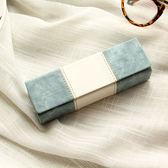 眼鏡盒女韓國小清新抗壓復古優雅創意眼睛盒男生個性文藝簡約  檸檬衣舍