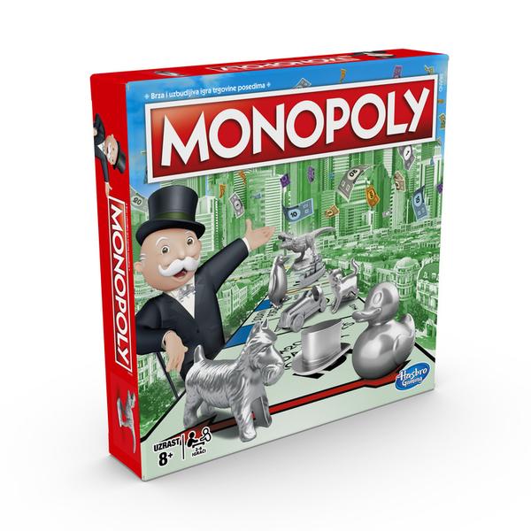 MONOPOLY地產大亨 快速成交地產投資遊戲 新版 桌上型多人同樂遊戲 桌遊 TOYeGO 玩具e哥