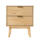 艾得爾床邊櫃 OZZIE 淺木色