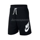 Nike 短褲 Sportswear Men s Shorts 黑 白 男款 勾勾 休閒運動褲 【ACS】 AR2376-010