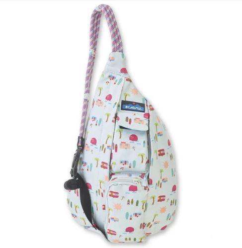 [好也戶外]KAVU Mini Rope Bag 休閒肩背包(棉布款) 衝浪營地 NO.9150