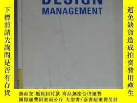 二手書博民逛書店DESIGN罕見MANAGEMENT (was produkte