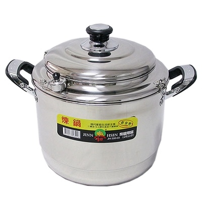牛88 正304不鏽鋼 多功能調理煉鍋-40cm 滴雞精 坐月子必備 燉鍋 集電鍋、蒸鍋、湯鍋功能於一身