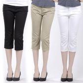 中老年短褲女夏媽媽七分褲寬鬆薄款直筒褲