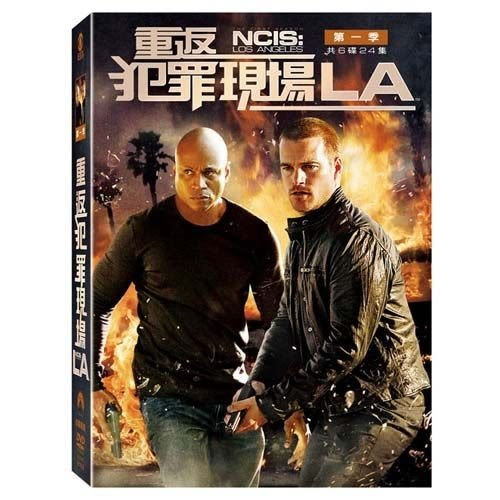 重返犯罪現場LA 第一季 DVD 歐美影集  Ncis Los Angeles Season 1 (購潮8)