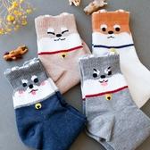 韓國 柴犬狗狗造型襪 襪子 短襪 造型襪 四分襪 流行襪 狗狗襪子