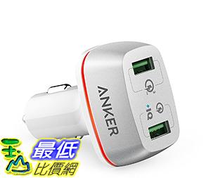 [106美國直購] Quick Charge 3.0 Anker 42W 2-Port USB Car Charger PowerDrive+2 -White 車載充電器
