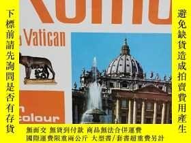 二手書博民逛書店羅馬與梵蒂岡:建築、雕塑與歷史罕見Rome and Vatica