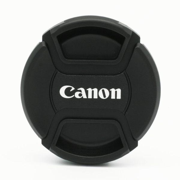 又敗家@佳能CANON鏡頭蓋52mm鏡頭蓋55mm鏡蓋58mm鏡頭蓋A款副廠鏡頭蓋相容Canon原廠鏡頭蓋Canon