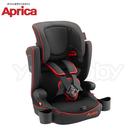 愛普力卡 Aprica AirGroove 成長型輔助汽車安全座椅(可機洗限定版) -黑色龍捲風