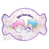 〔小禮堂〕雙子星 糖果造型腳踏墊《粉紫》36x46cm.地墊.地毯 4901610-43784