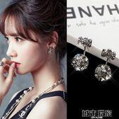 耳環 S925純銀蝴蝶結耳釘女氣質韓國個性簡約百搭網紅耳墜甜美耳環耳飾  城市玩家