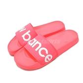 New Balance 拖鞋 NB SWF200G1 B 粉紅 白 基本款 夏日百搭款 女鞋【PUMP306】 SWF200G1B