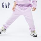 Gap男童 素色刷毛針織長褲 755653-淡紫色