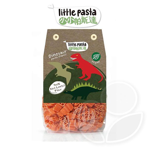 英國 little pasta 小小帕斯達 紅扁豆恐龍造型兒童義大利麵【佳兒園婦幼館】