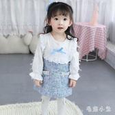 女寶寶秋裝童裝年新款小香風公主裙小童洋氣裙子女童連身裙 FX3274 【毛菇小象】