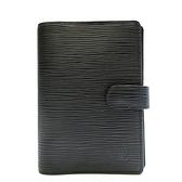 路易威登 LOUIS VUITTON LV  黑色EPI水波紋六孔活頁釦式筆記本 R20052  【BRAND OFF】