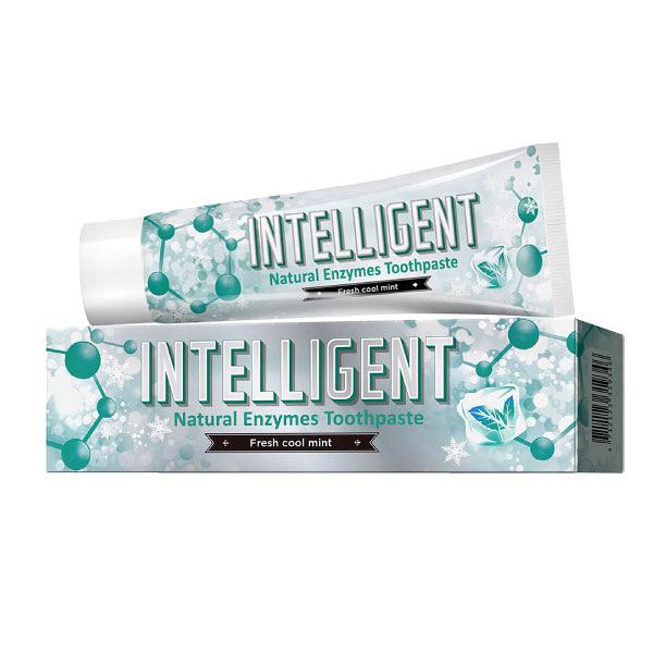 Intelligent 因特力淨 冰晶薄荷酵素牙膏 (80g/條)【杏一】