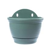 仿陶土半圓壁盆5吋(綠)