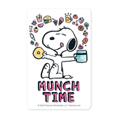 SNOOPY《MUNCH TIME》一卡通