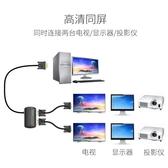 vga分配器一分二高清電腦轉換顯示分屏器1進2出多屏幕切換投影儀一進二出分頻器-享家生活館