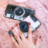 抖音同款蘋果7plus手機殼網紅蘋果6s情侶8plus相機6p潮牌男女X創意個性  優家小鋪