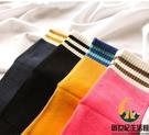 4雙裝 加厚純棉毛圈五指襪保暖中筒高腰加絨毛巾襪【創世紀生活館】