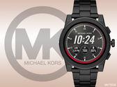 【時間道】MICHAEL KORS ACCESS酷黑時尚智能腕錶/電子面黑鋼帶 (MKT5029)免運費