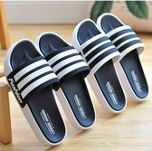 促銷男士涼拖鞋夏季家用防滑室內軟底室外塑料厚底外穿女士家居托鞋男 宜室
