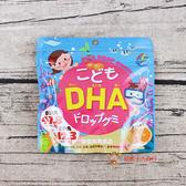 日本糖果兒童機能糖_DHA軟糖(橘子風味)82g【0216零食團購】4903361440927