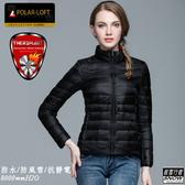 [極雪行者]SW-P133女/黑色/軍用POLARLOFT300/133g(24H)超保暖防水防靜電鋁熱中層外套