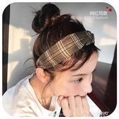 新款發箍女韓國簡約甜美森女繫頭飾寬邊發帶淑女頭箍發卡頭飾    東川崎町