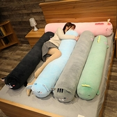 床頭靠墊枕頭側睡夾腿抱枕女生睡覺男生款床上長條枕趴趴枕可拆洗 夢幻小鎮