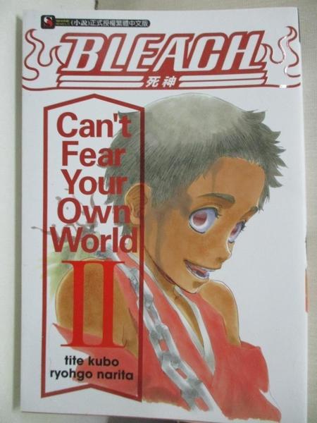 【書寶二手書T1/一般小說_CCB】BLEACH死神 Can?t Fear Your Own World Ⅱ_成田良悟,  劉仁倩