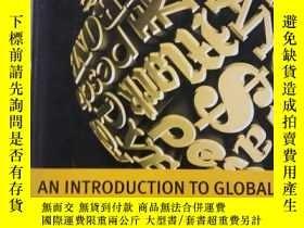 二手書博民逛書店An罕見Introduction To Global Finan