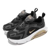 Nike 休閒鞋 Air Max 200 PS 黑 金 童鞋 中童鞋 運動鞋 【PUMP306】 AT5628-003