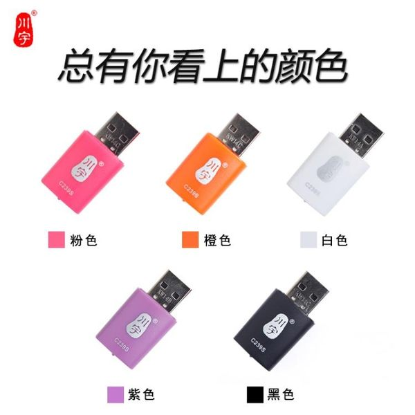 小型mini讀卡器 Micro 存儲SD 手機內存卡 TF卡小卡讀卡器 LOLITA