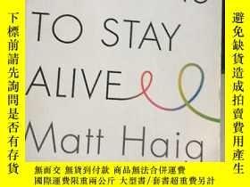 二手書博民逛書店活下去的理由罕見英文原版 Reasons to Stay Alive Matt Haig 馬特海格 走出抑郁的生命
