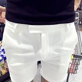~年終~ 大促正韓四分褲男士修身三分褲潮超短褲英倫休閒西裝短褲