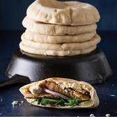 【南紡購物中心】【約克街肉舖】美國直送6寸口袋麵包12個(70g/個)