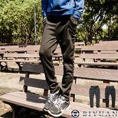 棉質長褲【Y0182】OBI YUAN韓版抽繩綁帶厚棉休閒褲/長棉褲/共2色
