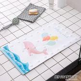 浴室防滑墊家用衛浴衛生間地墊廁所淋浴洗澡腳墊帶吸盤耐磨門墊     時尚教主