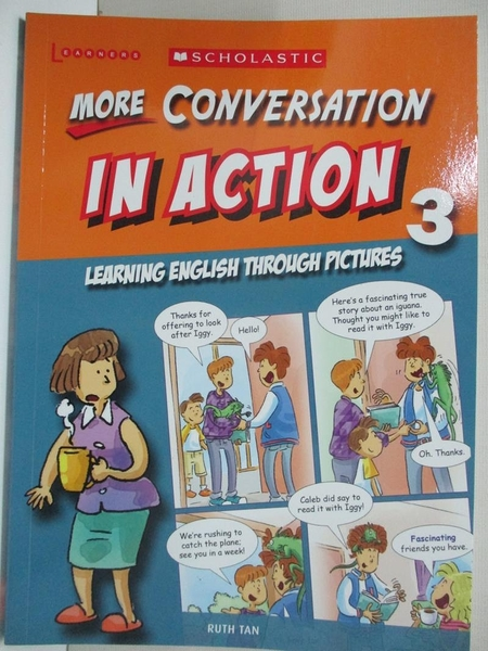 【書寶二手書T1/語言學習_HS6】More Conversation in Action 3