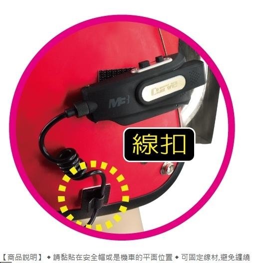 Supercam 獵豹 3M線扣 (4顆一組) 適用 A260 A260 PLUS A1 M1 M2 M3 M4