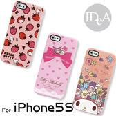 Sanrio 三麗歐 iPhone5S Hello Kitty My Melody KUROMI 滿版TPU手機保護套 亮面清水矽膠軟殼